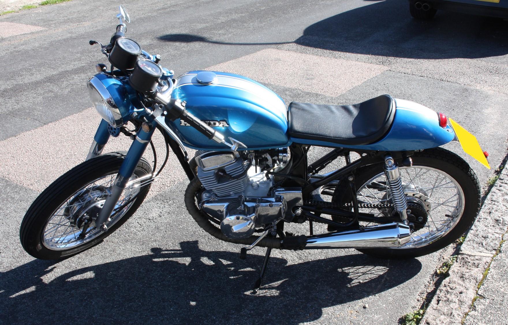 Honda CD200 – Customer Bike