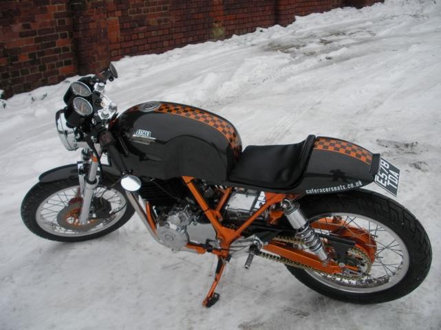 Honda XBR500 Carbon
