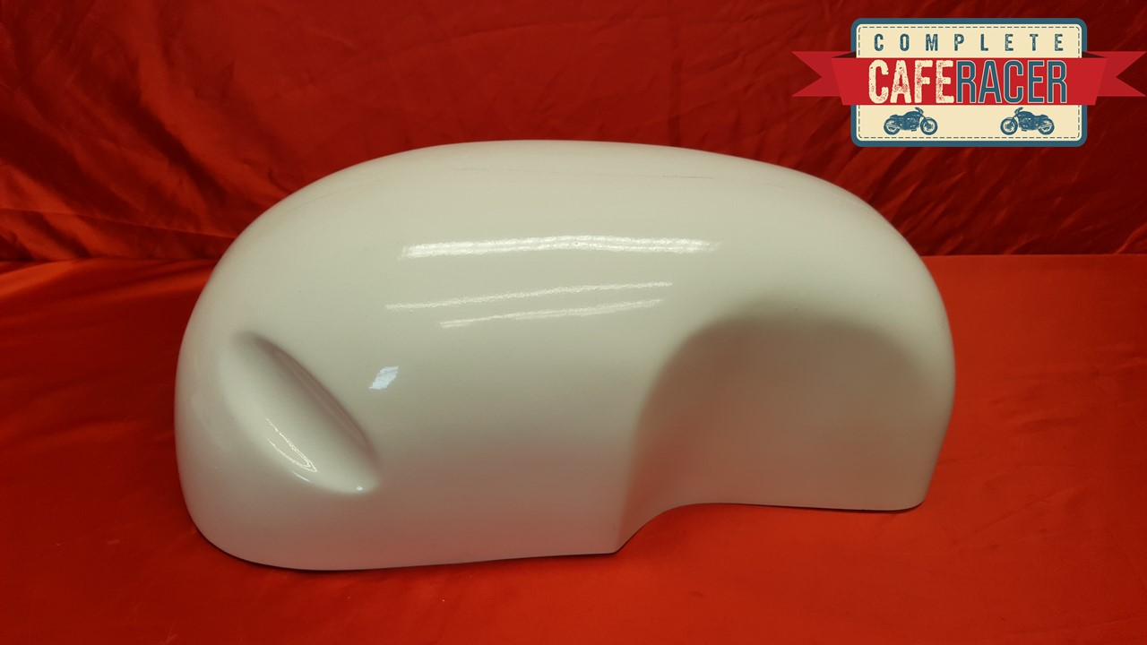 BSA STYLE CAFE RACER FIBREGLASS FUEL TANK COVER / PETROL TANK COVER