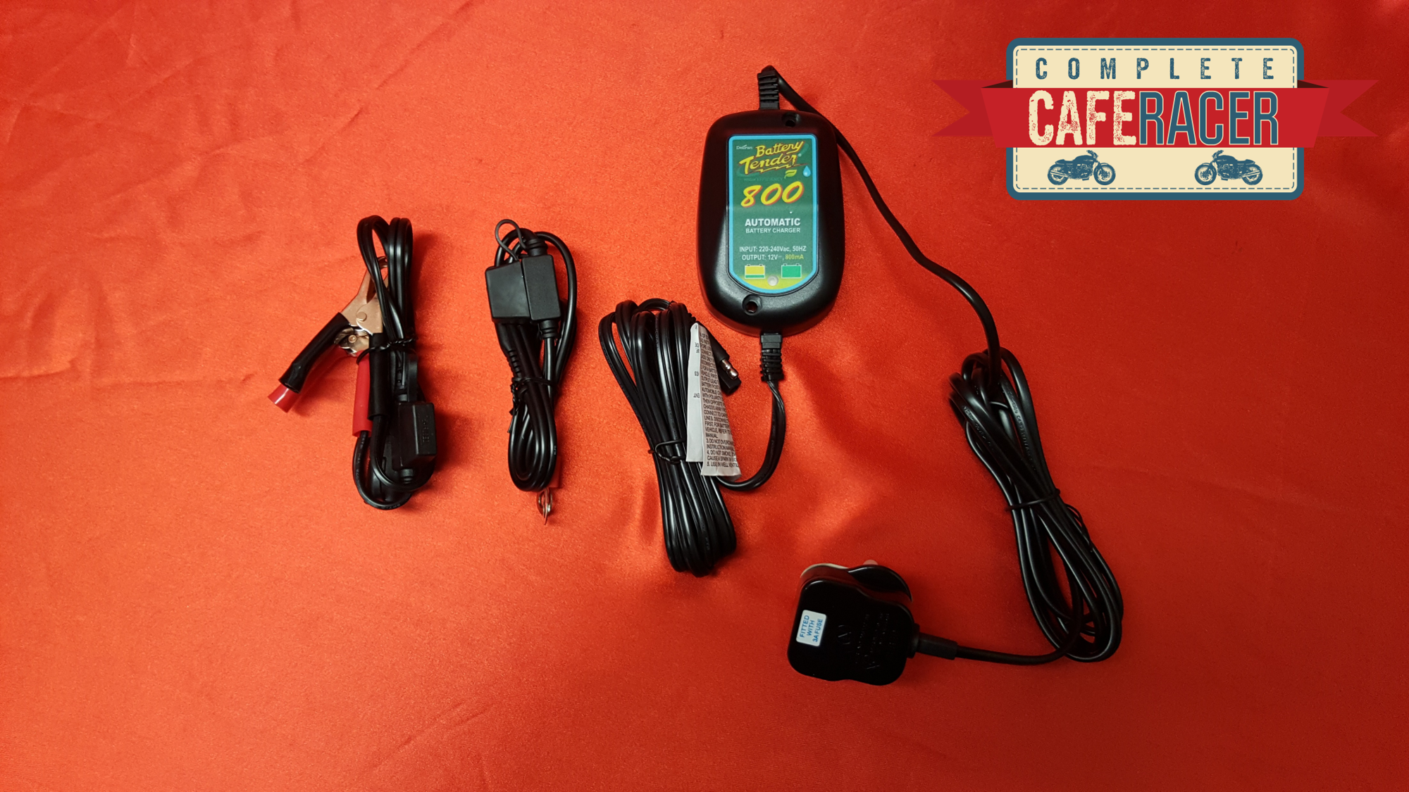 WATERPROOF 800mA BATTERY CHARGER