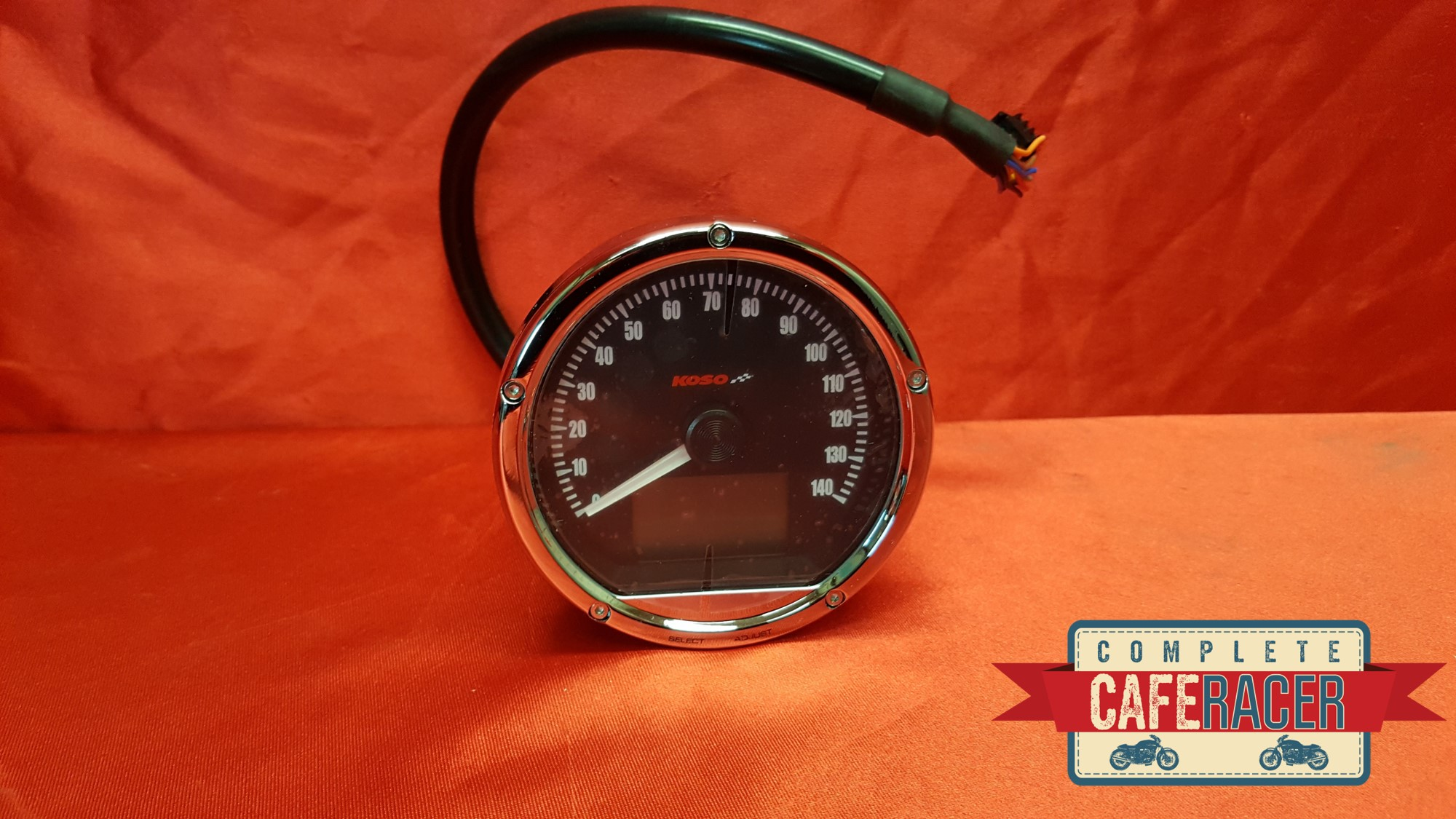 CAFE RACER KOSO CRB01s SPEEDOMETER 140MPH/225KPH