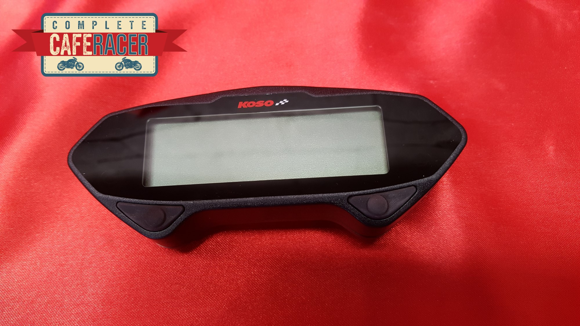 CAFE RACER KOSO DB-01RN MULTI FUNCTION DIGITAL SPEEDO