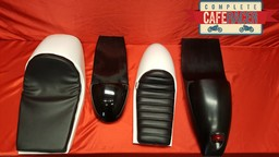 FIBREGLASS CAFE RACER SEATS