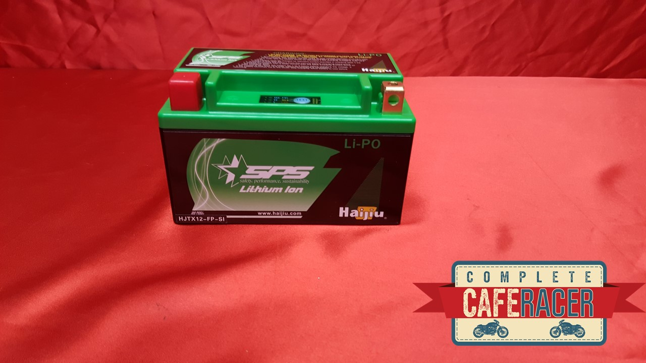 (MG) CAFE RACER LITHIUM ION BATTERY 12V COMPACT LIGHTWEIGHT 10AMP