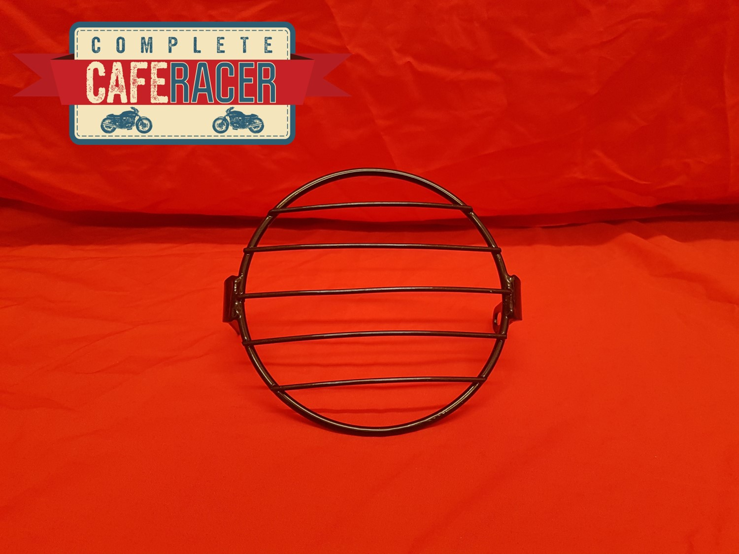 (A) Cafe Racer Headlight Guard
