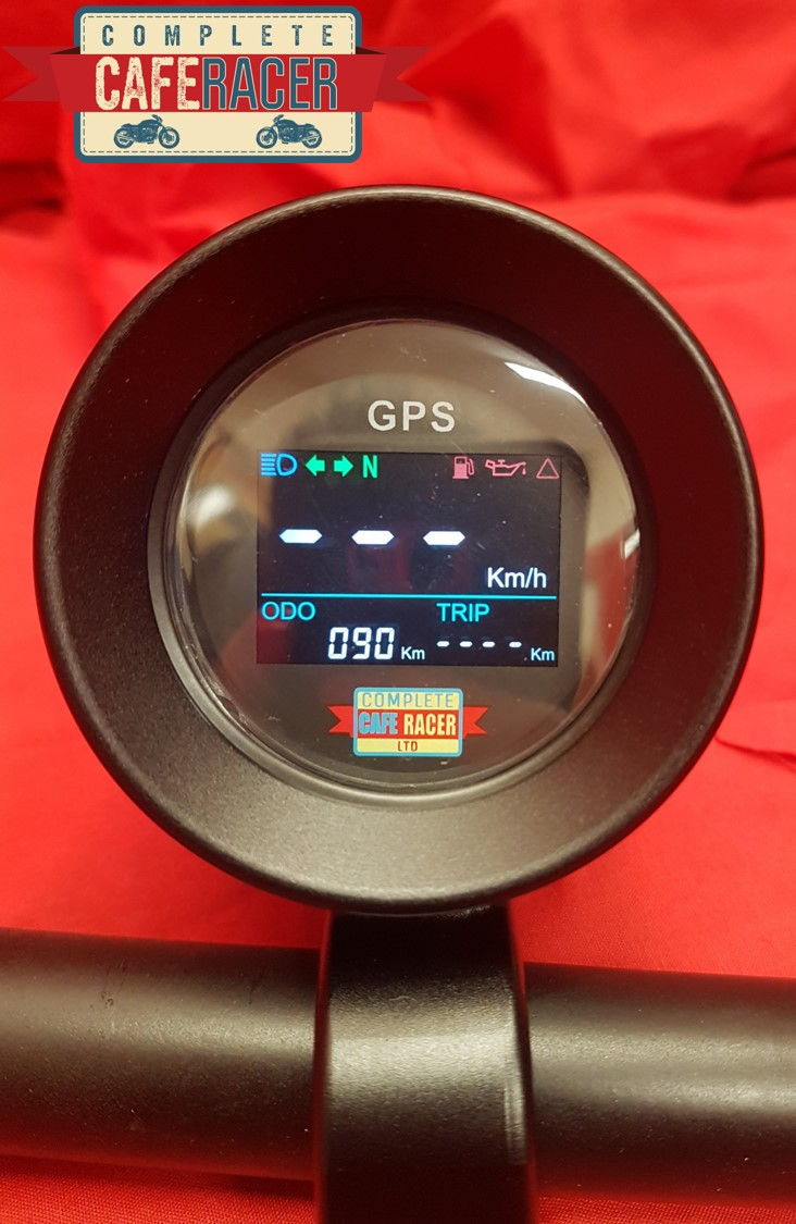 Cafe Racer Mini GPS Speedometer