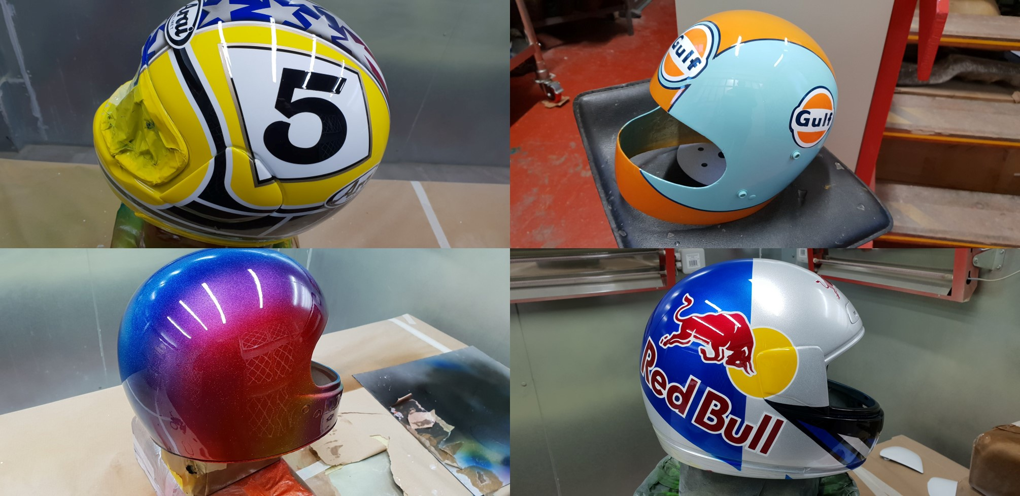 helmet paint jobs
